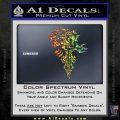 Final Fantasy Lionheart Decal Sticker DZA Sparkle Glitter Vinyl 120x120