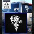 Final Fantasy Lionheart Decal Sticker DZA White Emblem 120x120