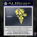 Final Fantasy Lionheart Decal Sticker DZA Yelllow Vinyl 120x120