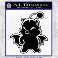 Final Fantasy Moogle Full Body Black Logo Emblem 120x120