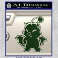 Final Fantasy Moogle Full Body Dark Green Vinyl 120x120
