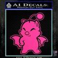 Final Fantasy Moogle Full Body Hot Pink Vinyl 120x120