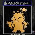 Final Fantasy Moogle Full Body Metallic Gold Vinyl 120x120