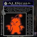 Final Fantasy Moogle Full Body Orange Vinyl Emblem 120x120