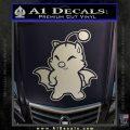 Final Fantasy Moogle Full Body Silver Vinyl 120x120