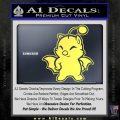 Final Fantasy Moogle Full Body Yelllow Vinyl 120x120