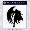 Final Fantasy Sephiroth Wings Decal Sticker Black Logo Emblem 120x120