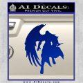 Final Fantasy Sephiroth Wings Decal Sticker Blue Vinyl 120x120