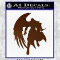 Final Fantasy Sephiroth Wings Decal Sticker Brown Vinyl 120x120