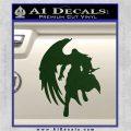 Final Fantasy Sephiroth Wings Decal Sticker Dark Green Vinyl 120x120
