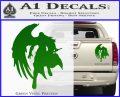 Final Fantasy Sephiroth Wings Decal Sticker Green Vinyl 120x97