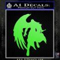 Final Fantasy Sephiroth Wings Decal Sticker Lime Green Vinyl 120x120