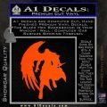 Final Fantasy Sephiroth Wings Decal Sticker Orange Vinyl Emblem 120x120