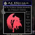 Final Fantasy Sephiroth Wings Decal Sticker Pink Vinyl Emblem 120x120