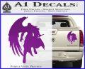 Final Fantasy Sephiroth Wings Decal Sticker Purple Vinyl 120x97