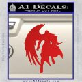 Final Fantasy Sephiroth Wings Decal Sticker Red Vinyl 120x120