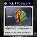 Final Fantasy Sephiroth Wings Decal Sticker Sparkle Glitter Vinyl 120x120