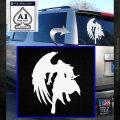Final Fantasy Sephiroth Wings Decal Sticker White Emblem 120x120