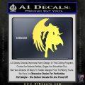Final Fantasy Sephiroth Wings Decal Sticker Yelllow Vinyl 120x120