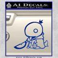 Final Fantasy Summon Tonberry Decal Sticker Blue Vinyl 120x120