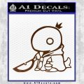 Final Fantasy Summon Tonberry Decal Sticker Brown Vinyl 120x120