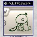 Final Fantasy Summon Tonberry Decal Sticker Dark Green Vinyl 120x120