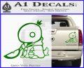 Final Fantasy Summon Tonberry Decal Sticker Green Vinyl 120x97