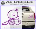 Final Fantasy Summon Tonberry Decal Sticker Purple Vinyl 120x97