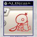 Final Fantasy Summon Tonberry Decal Sticker Red Vinyl 120x120