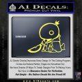 Final Fantasy Summon Tonberry Decal Sticker Yelllow Vinyl 120x120