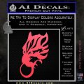 Final Fantasy Wolf Head Decal Sticker Pink Vinyl Emblem 120x120