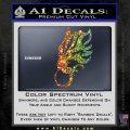 Final Fantasy Wolf Head Decal Sticker Sparkle Glitter Vinyl 120x120