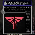 Firefly Icon The Last of Us SXC Decal Sticker Pink Vinyl Emblem 120x120