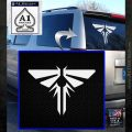 Firefly Icon The Last of Us SXC Decal Sticker White Emblem 120x120