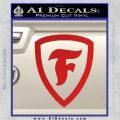 Firestone Decal Sticker Red Vinyl 120x120