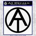 GI Joe Adventure Team Decal Sticker Black Logo Emblem 120x120