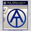 GI Joe Adventure Team Decal Sticker Blue Vinyl 120x120