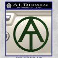 GI Joe Adventure Team Decal Sticker Dark Green Vinyl 120x120