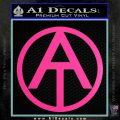 GI Joe Adventure Team Decal Sticker Hot Pink Vinyl 120x120