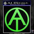 GI Joe Adventure Team Decal Sticker Lime Green Vinyl 120x120