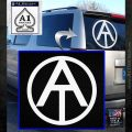 GI Joe Adventure Team Decal Sticker White Emblem 120x120