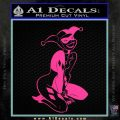 Harley Quin Sexy Pose Decal Sticker Hot Pink Vinyl 120x120