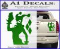 Harley Quinn D8 Decal Sticker Green Vinyl 120x97