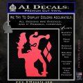 Harley Quinn D8 Decal Sticker Pink Vinyl Emblem 120x120