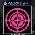 Hawkeye Target Scope emblem Drama Online Store Powered by Storenvy DLB Decal Sticker Hot Pink Vinyl 120x120