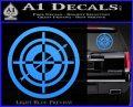 Hawkeye Target Scope emblem Drama Online Store Powered by Storenvy DLB Decal Sticker Light Blue Vinyl 120x97