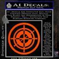 Hawkeye Target Scope emblem Drama Online Store Powered by Storenvy DLB Decal Sticker Orange Vinyl Emblem 120x120
