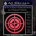 Hawkeye Target Scope emblem Drama Online Store Powered by Storenvy DLB Decal Sticker Pink Vinyl Emblem 120x120