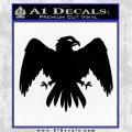 House Of Arryn Game Of Thrones D7 Decal Sticker Black Logo Emblem 120x120