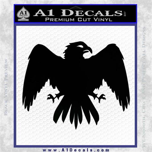 House Of Arryn Game Of Thrones D7 Decal Sticker Black Logo Emblem